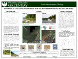 Restoration of Great Lakes beach habitats in the Fox River and lower Green Bay Area of Concern